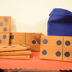 Large Wooden Dominoes