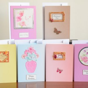 Pack of Various Coloured Cards