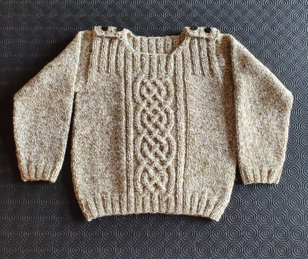 Childs Cable Knit Jumper - Size 5 yrs