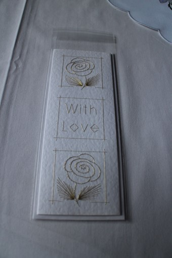 Handsewn With Love Card