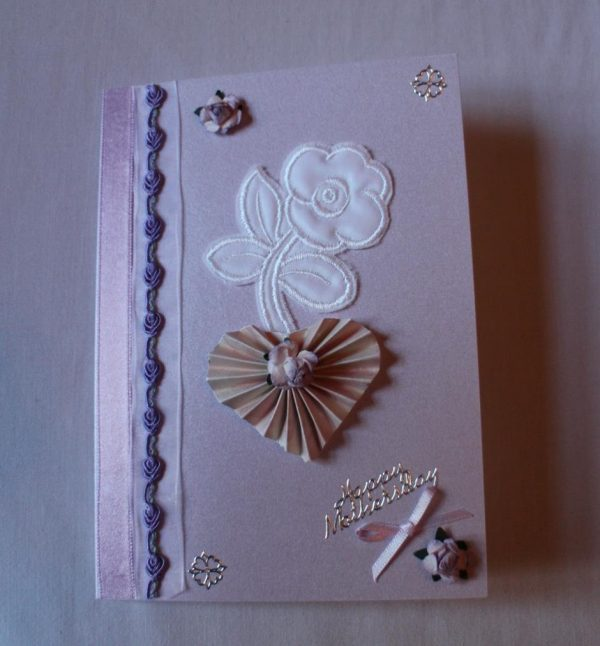 Mother's Day Card - Mauve